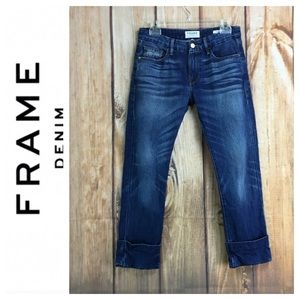 💸Frame Denim Le Grand Garçon Cuffed Jean size 24